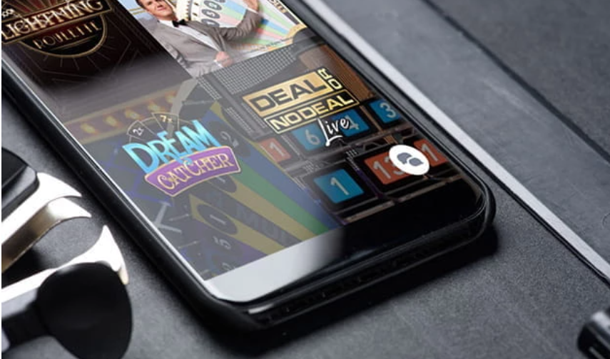 The mobile version of the Casino
